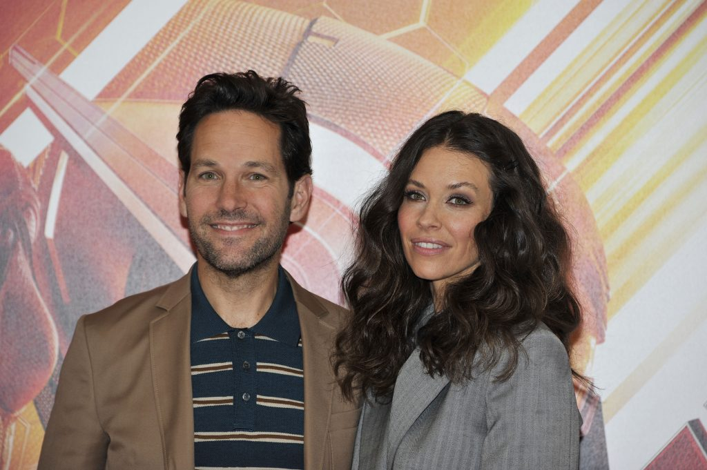 Paul Rudd e Evangeline Lilly
