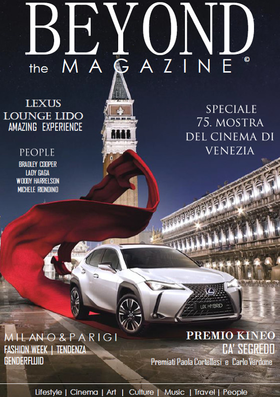Beyond the Magazine media partner Lexus Festival del Cinema Venezia