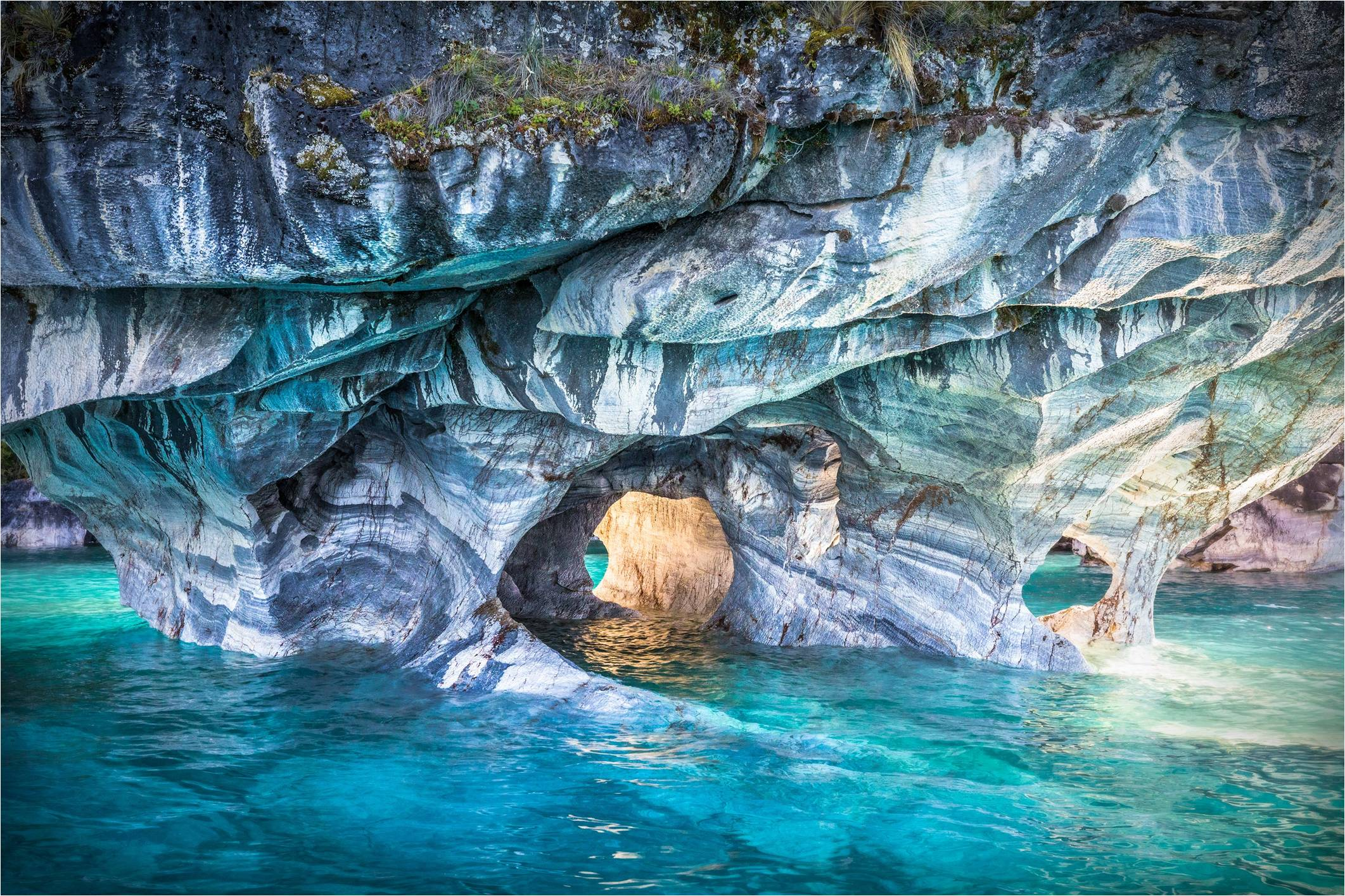 Chile Marble Caves Carrera Lake Beyond The Magazine