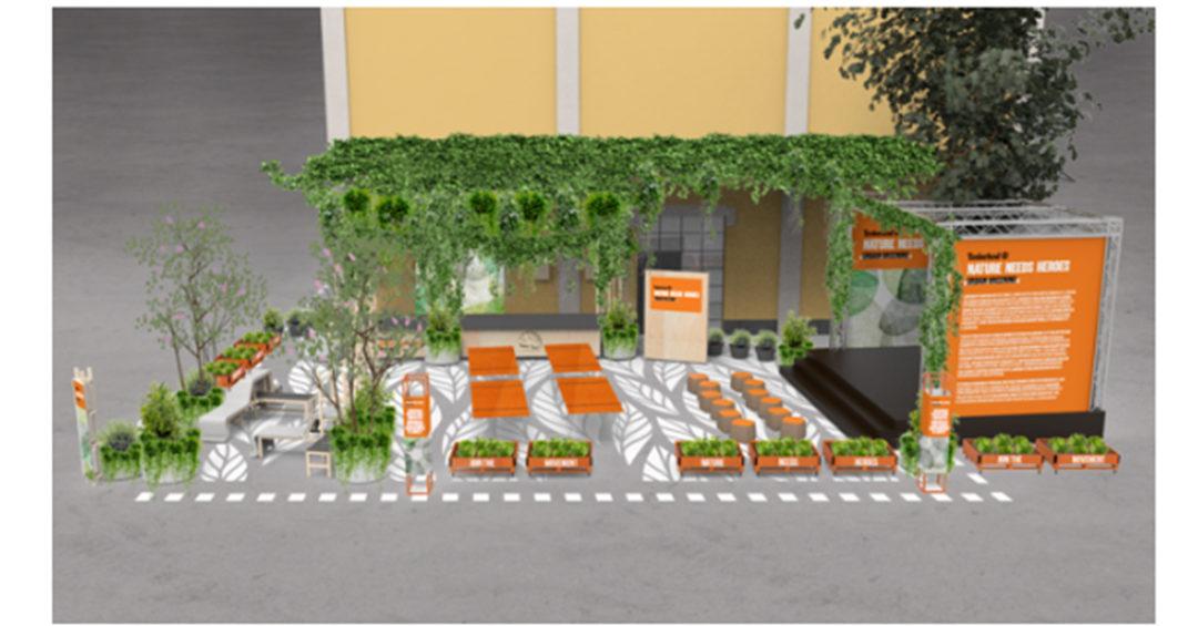 Milano: nasce Urban Greening l'orto di Timberland