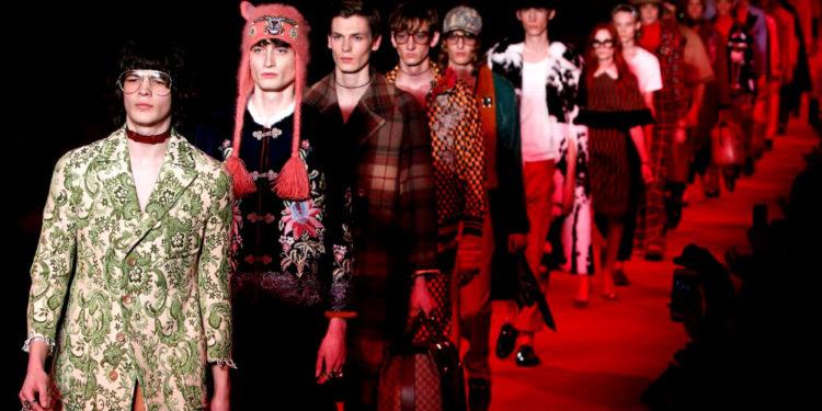 moda uomo gucci 2020 2021 rivista moda importante