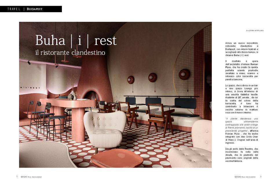 redazionale rivista italiana di lusso beyond the magazine