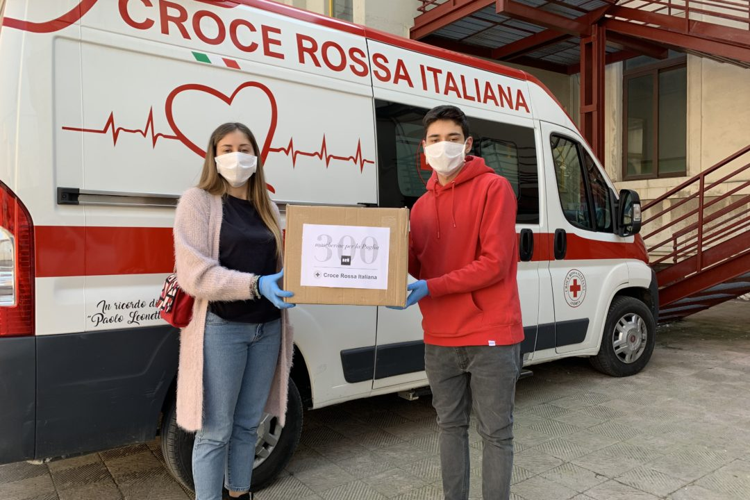 beyond the magazine bru milano mascherine donazione croce rossa italiana
