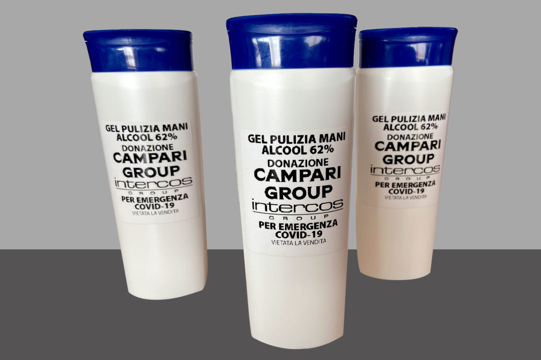campari gel disinfettante coronavirus beyond the magazine