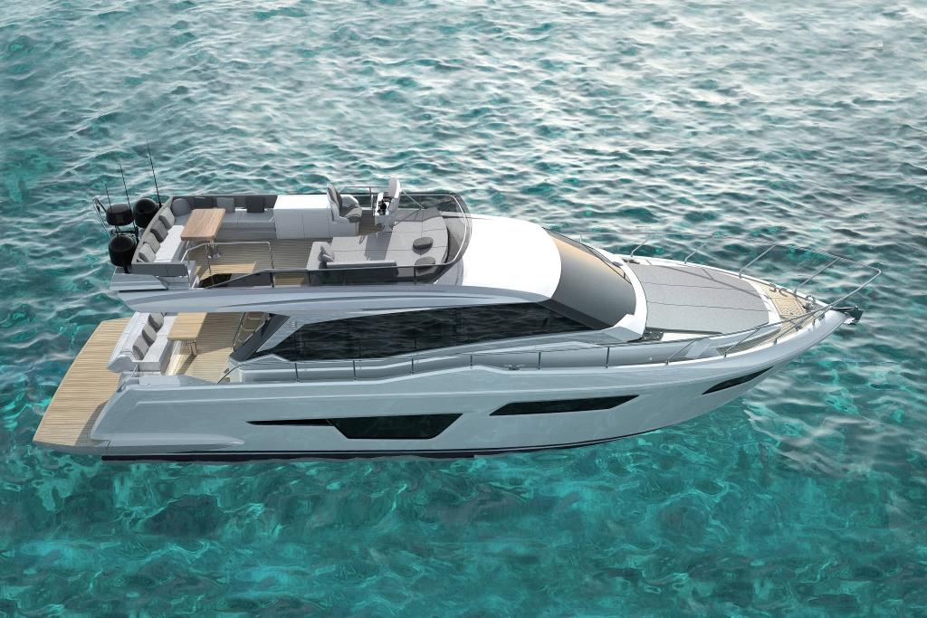 ferretti yacht beyond the magazine