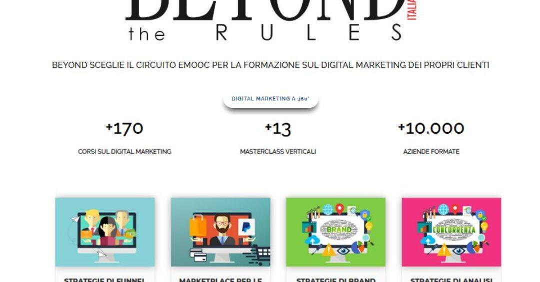 Turismo: al via la formazione web certificata del Gruppo Beyond con Emooc