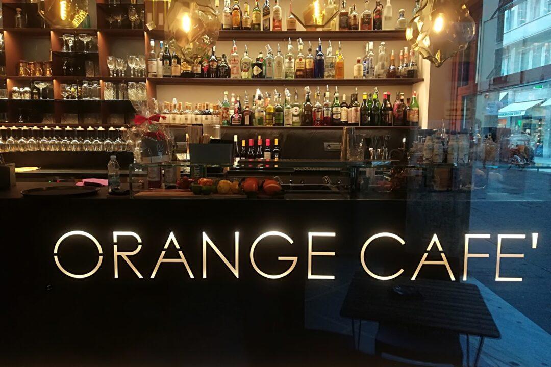 Orange cafè -Beyond the Magazine