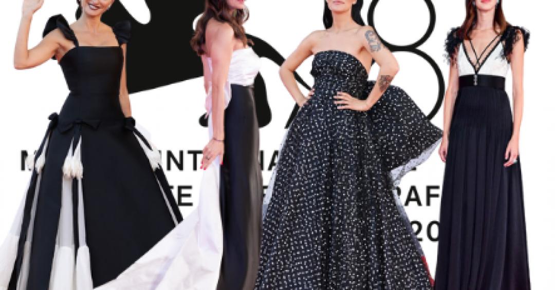 Venezia 2021, i migliori look black & white da Penelope Cruz a Manuela Arcuri